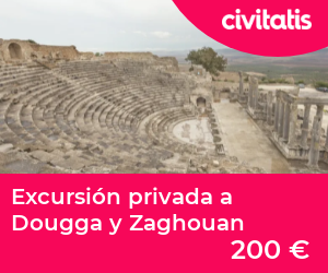 Excursión privada a Dougga y Zaghouan