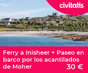 Ferry a Inisheer + Paseo en barco por los acantilados de Moher