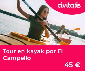 Tour en kayak por El Campello