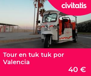 Tour en tuk tuk por Valencia