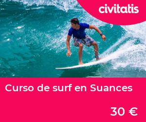 Curso de surf en Suances