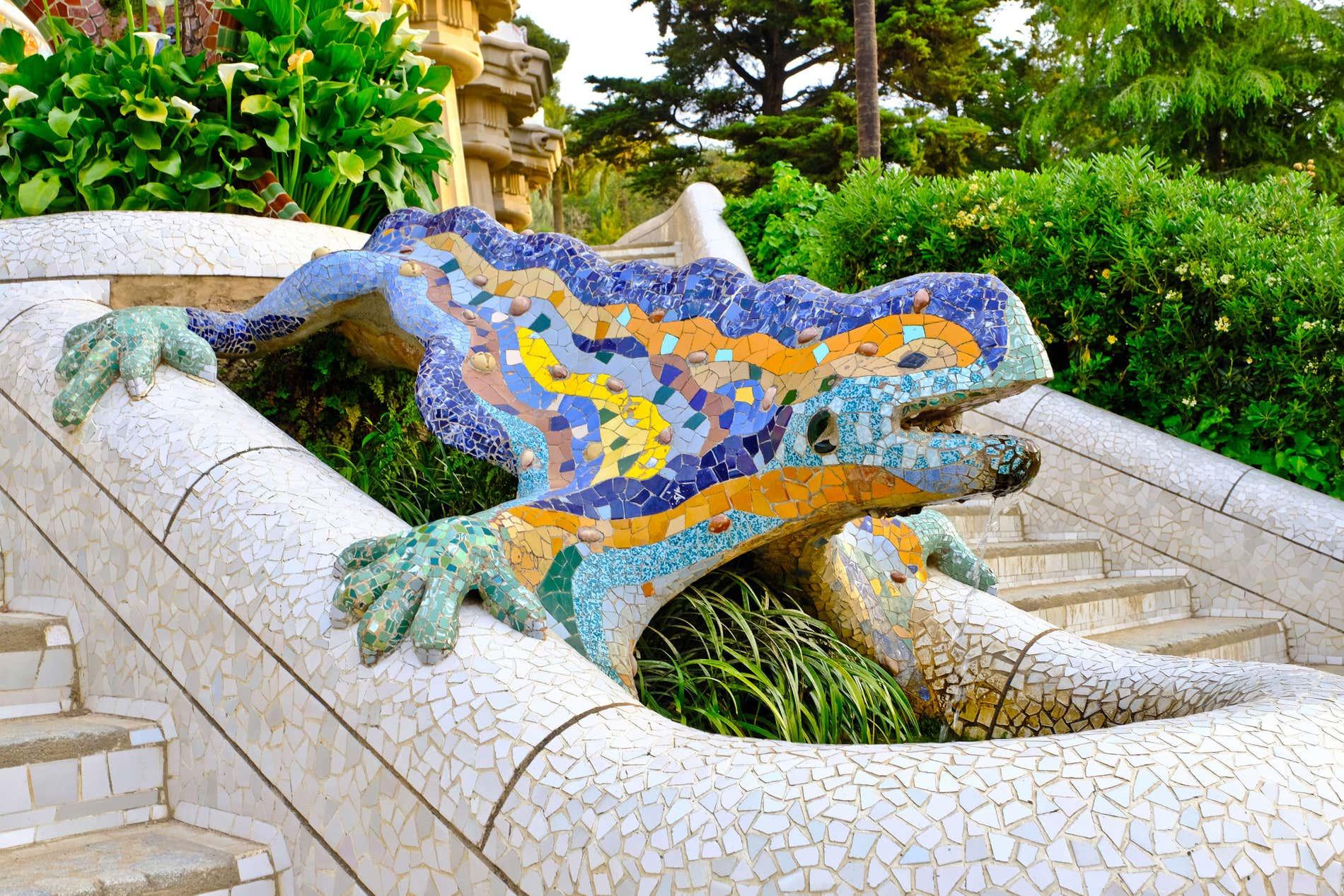Salamandra del parque Guell