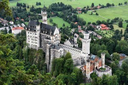 Los 10 castillos más impresionantes de Europa