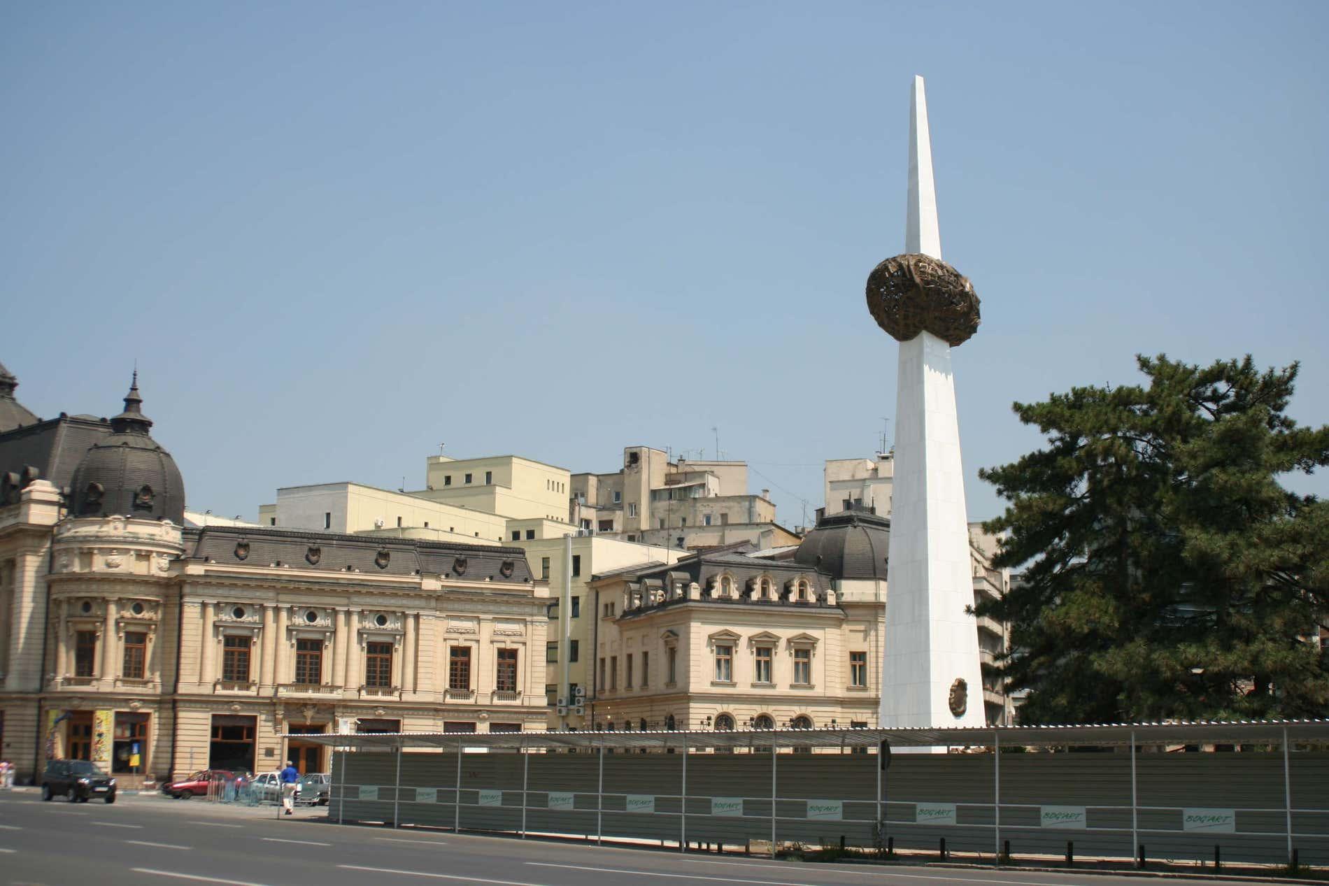Obélisque à Bucarest