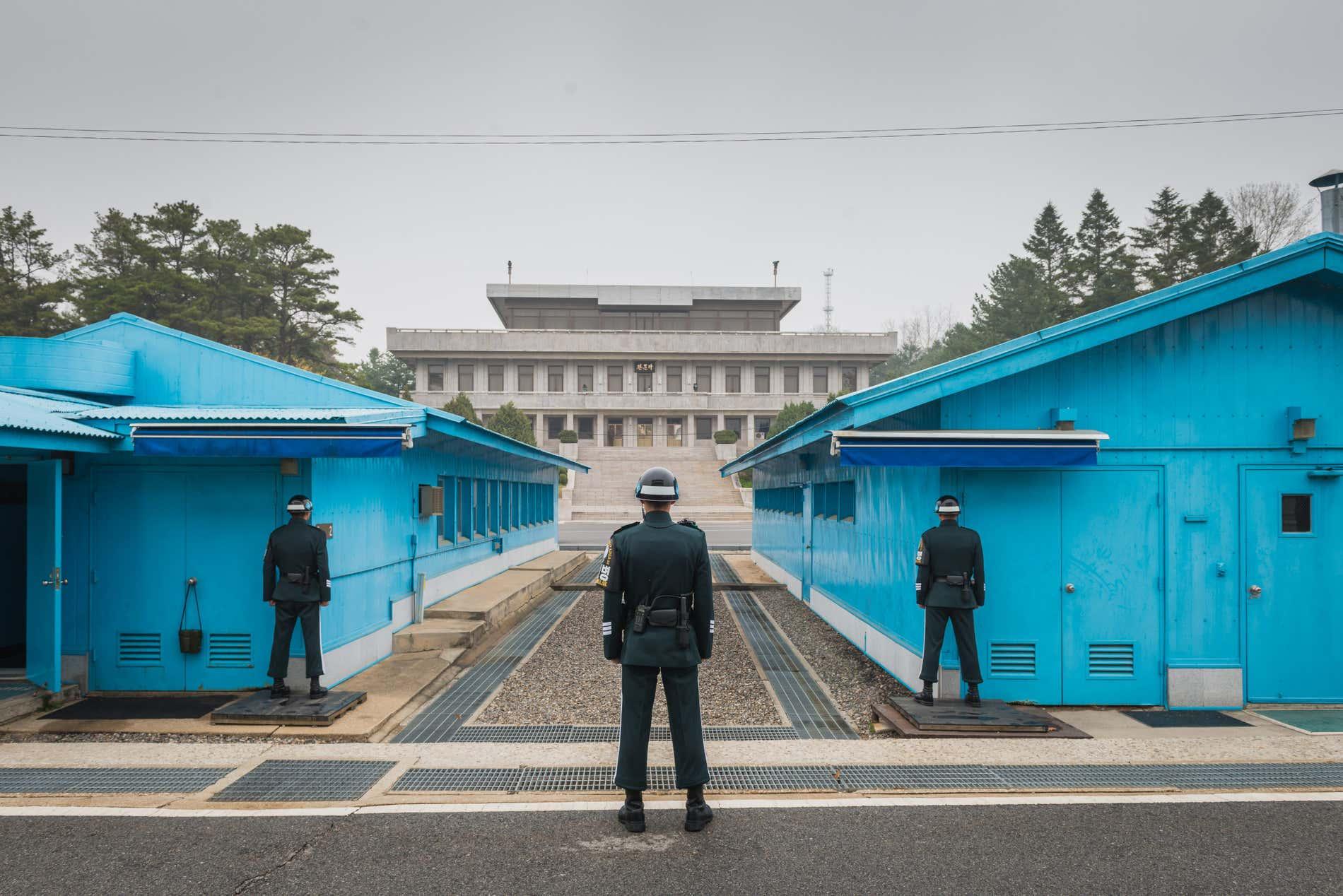 La zone démilitarisée de Corée