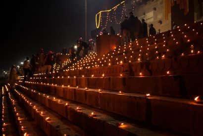 Visitar la India durante el festival Diwali
