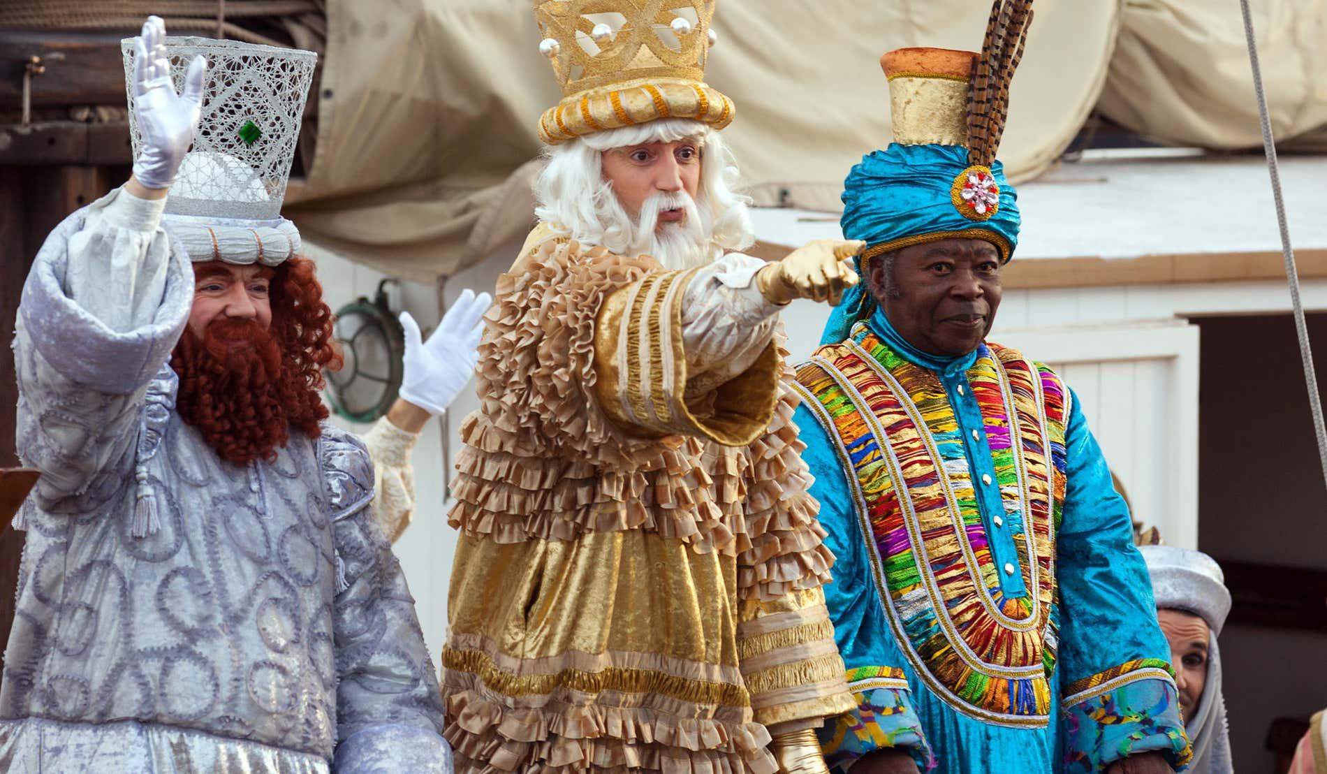 Le sfilate dei Re Magi in Spagna