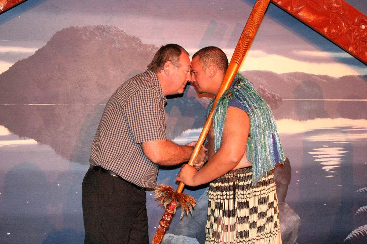 Một lời chào Maori