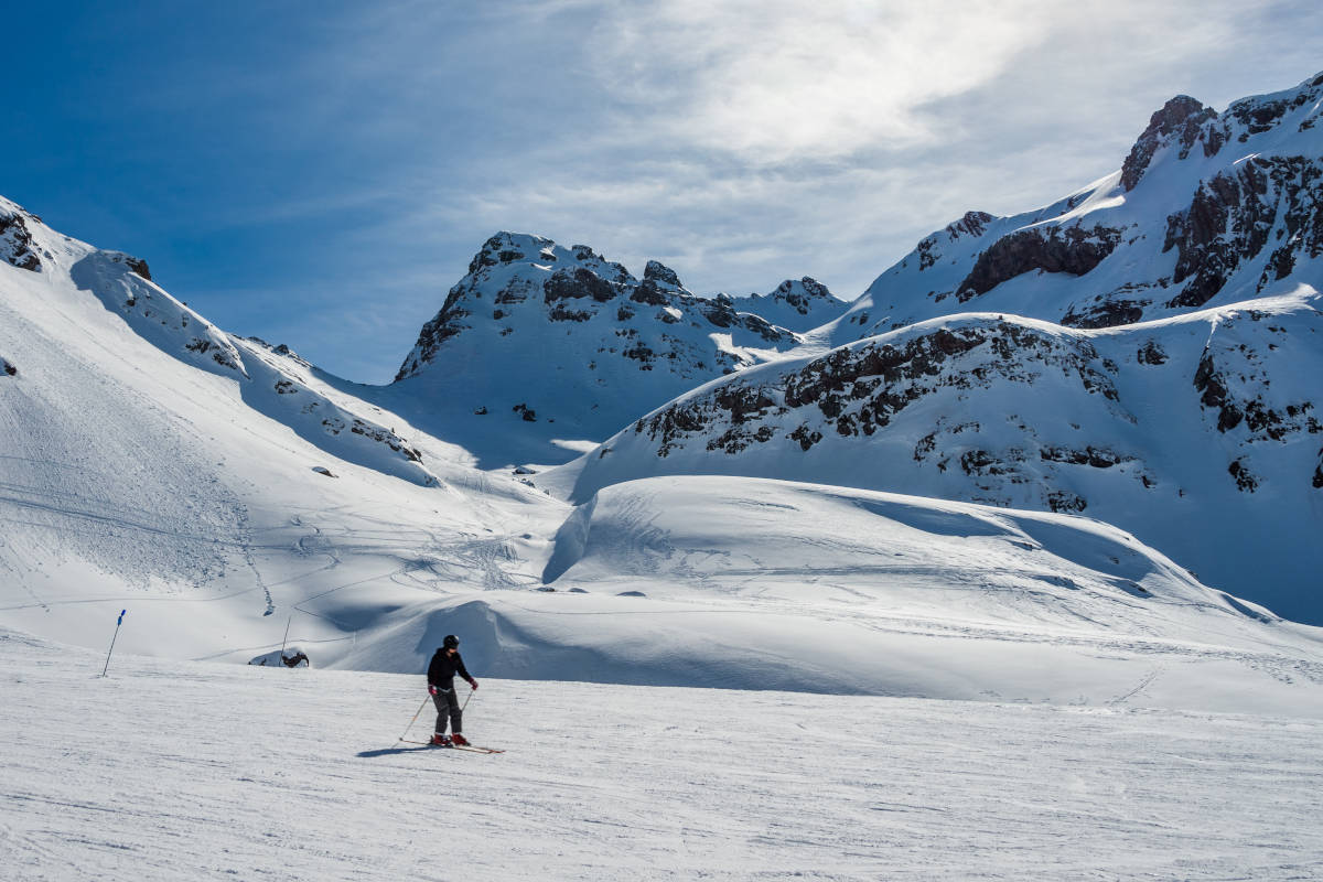 La sfilata dei Re Magi, sciando sui Pirenei aragonesi.