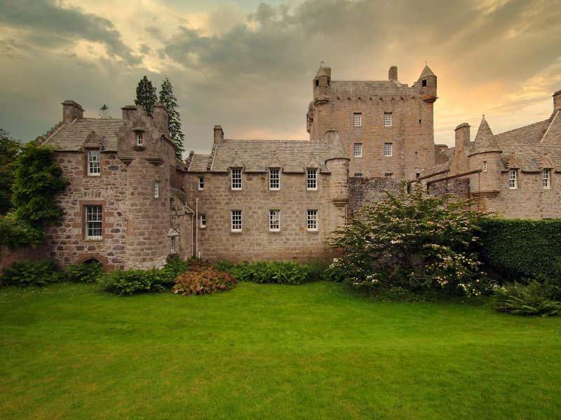 Castelo de Cawdor em Nairnshire, Escócia