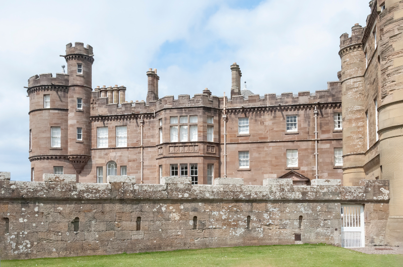 Castelo de Culzean em Ayrshire, Escócia