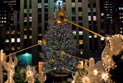 El origen del Árbol de Navidad de Rockefeller Center
