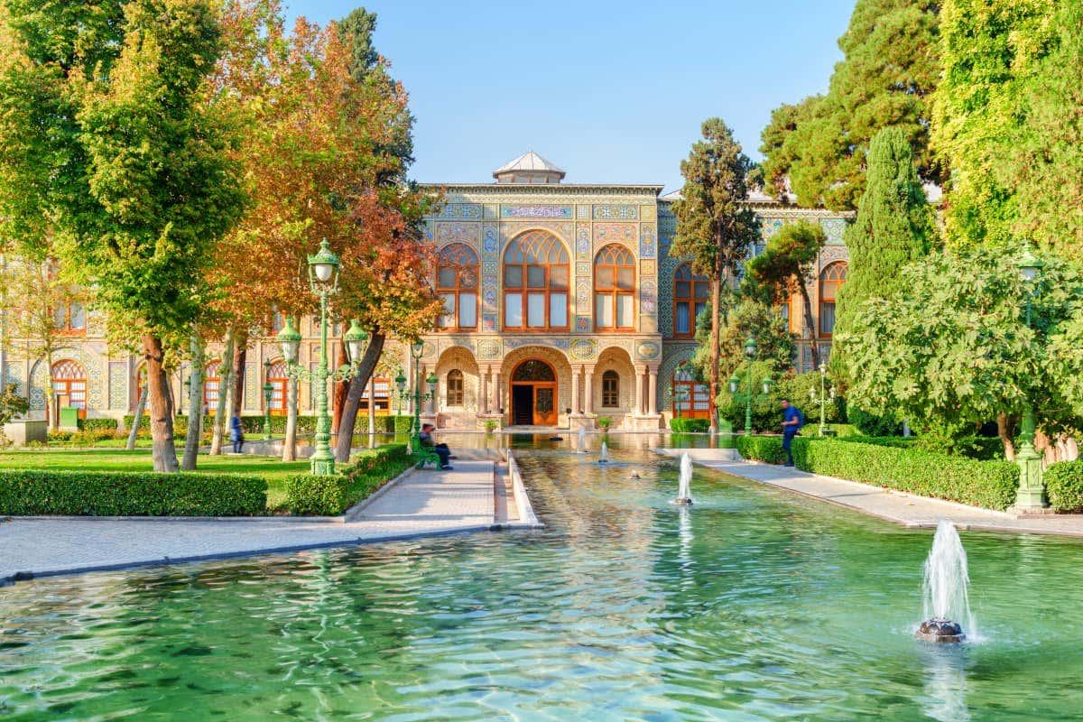 Palacio de Golestán en Irán