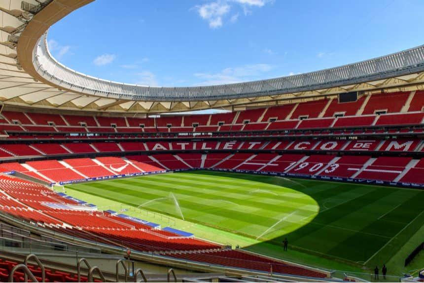 Panorámica del estadio Wanda Metropolitano