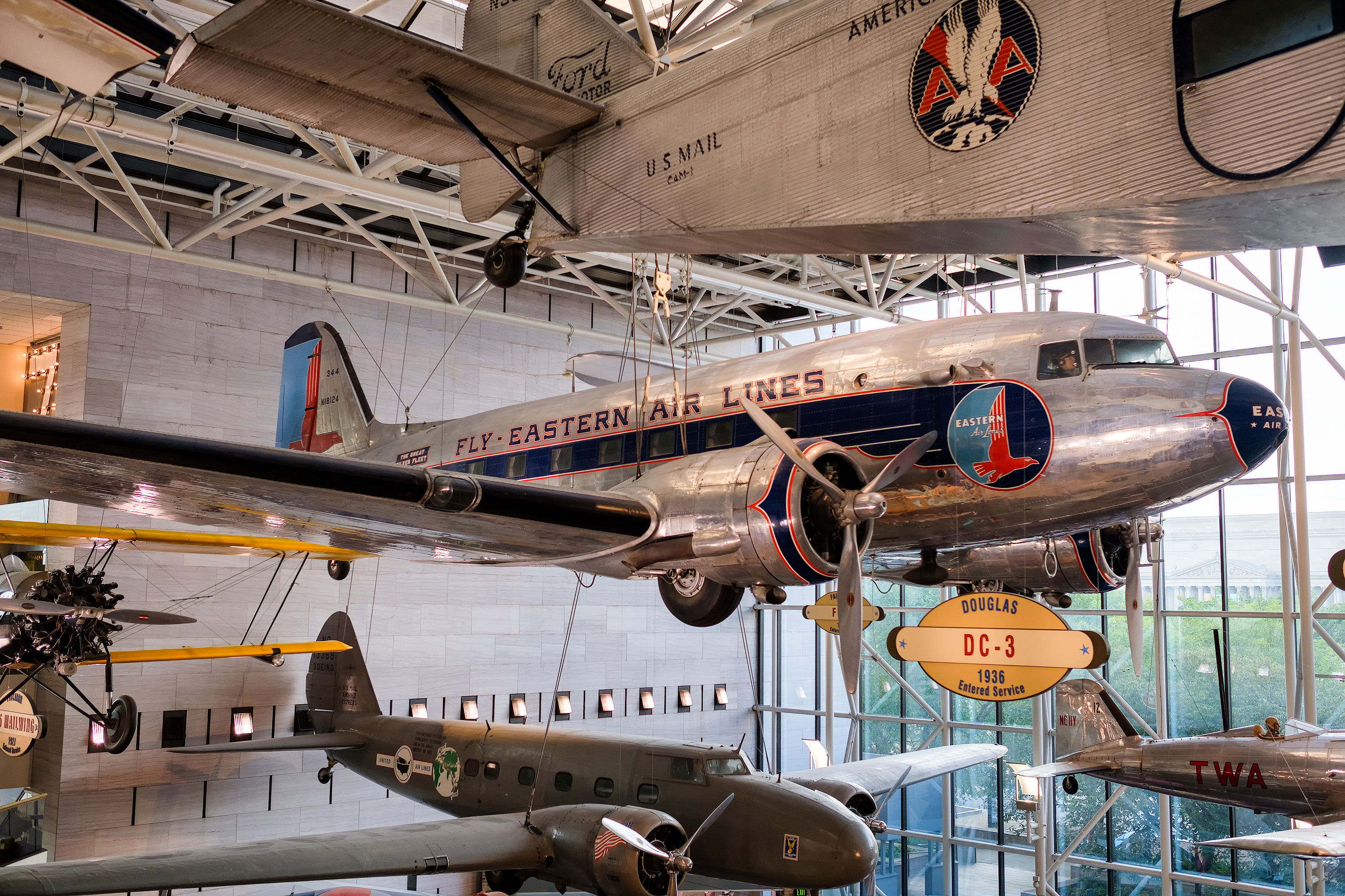 I velivoli del National Air and Space Museum