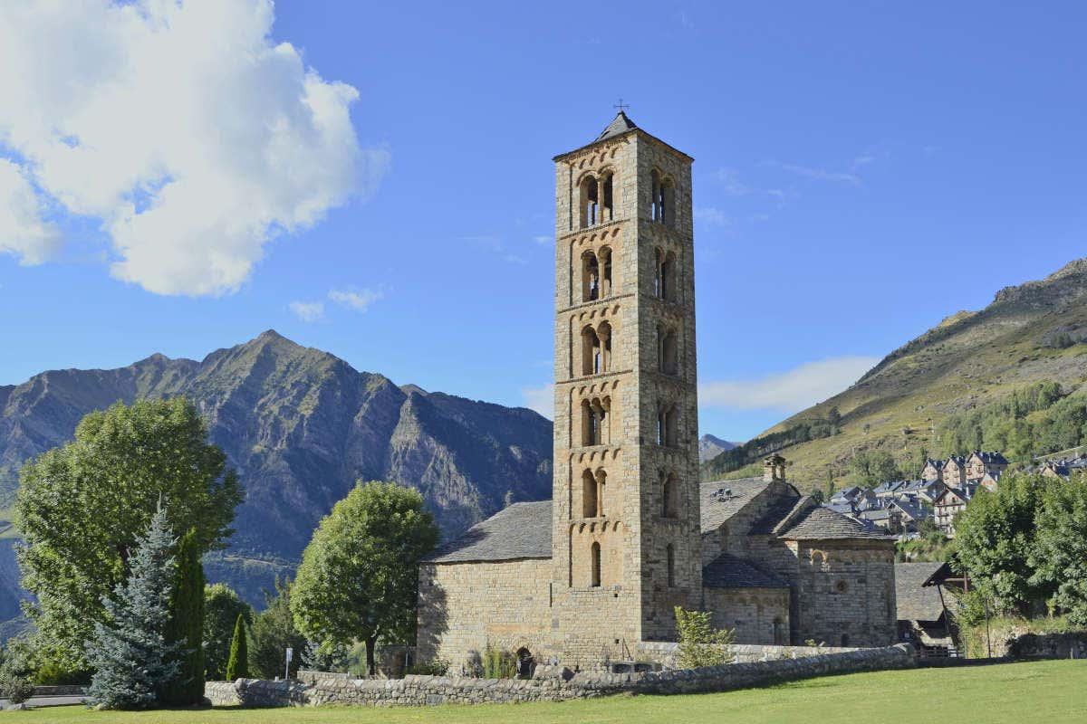 Foto de la iglesia Sant Climent en Tahull