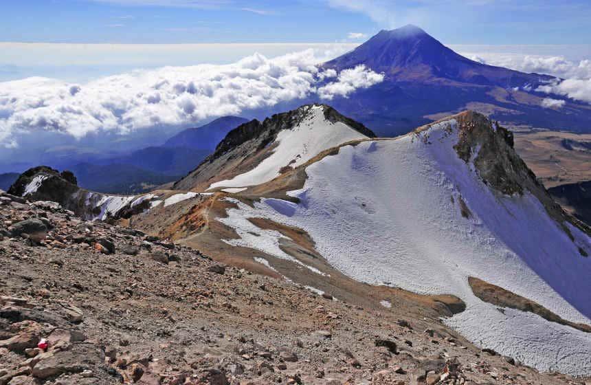 Iztaccíhuatl and Popocatépetl Volcanoes