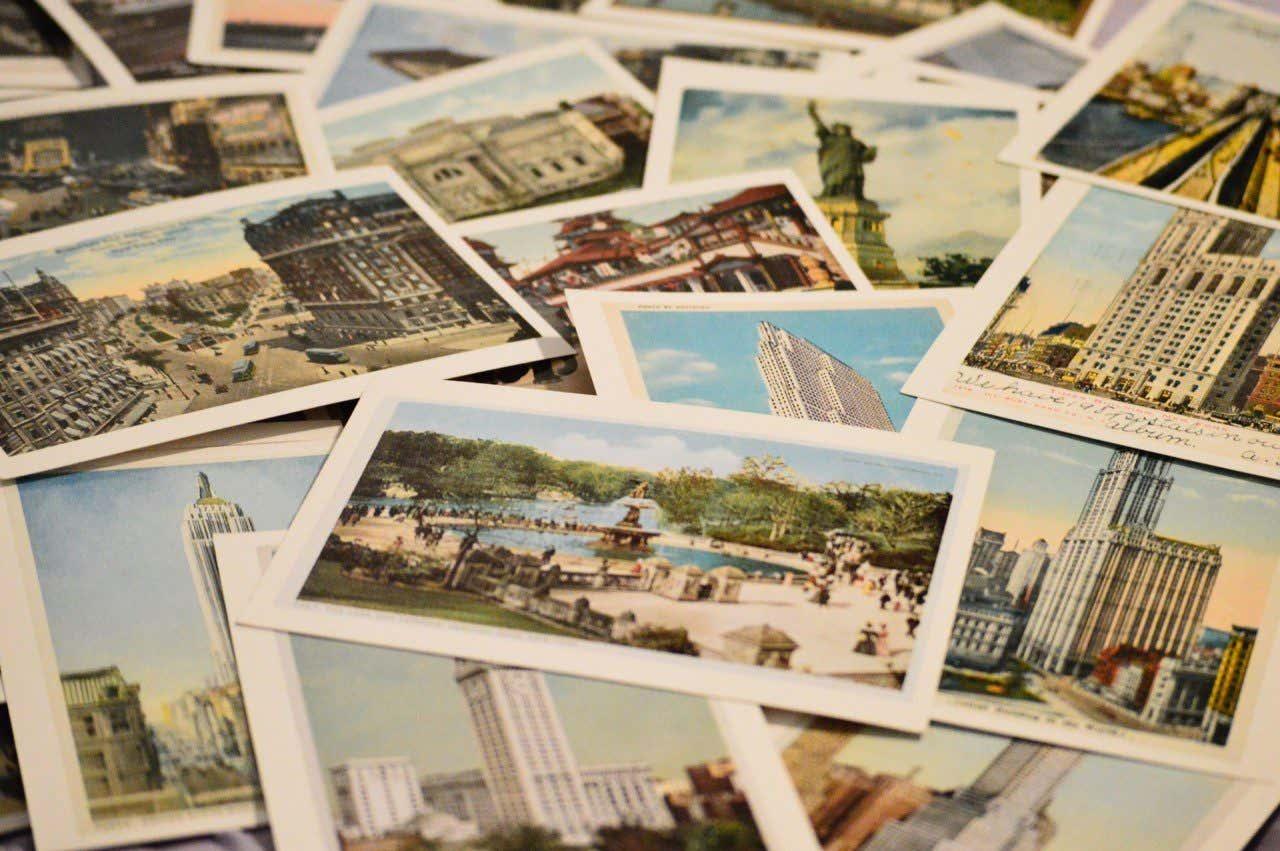 Origini delle cartoline