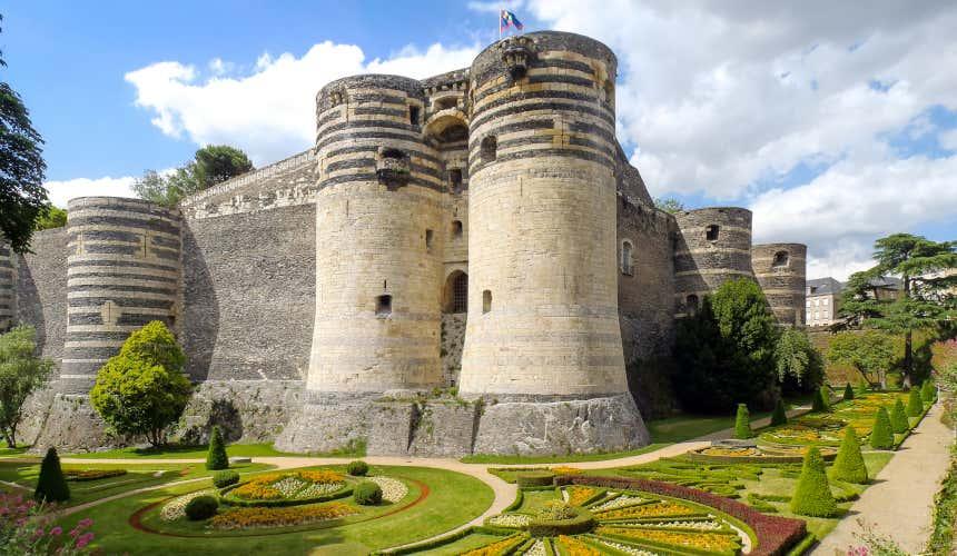 Muralhas do castelo de Angers