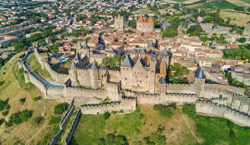Castelo e muralhas de Carcassonne