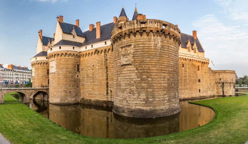 Muros do castelo de Nantes