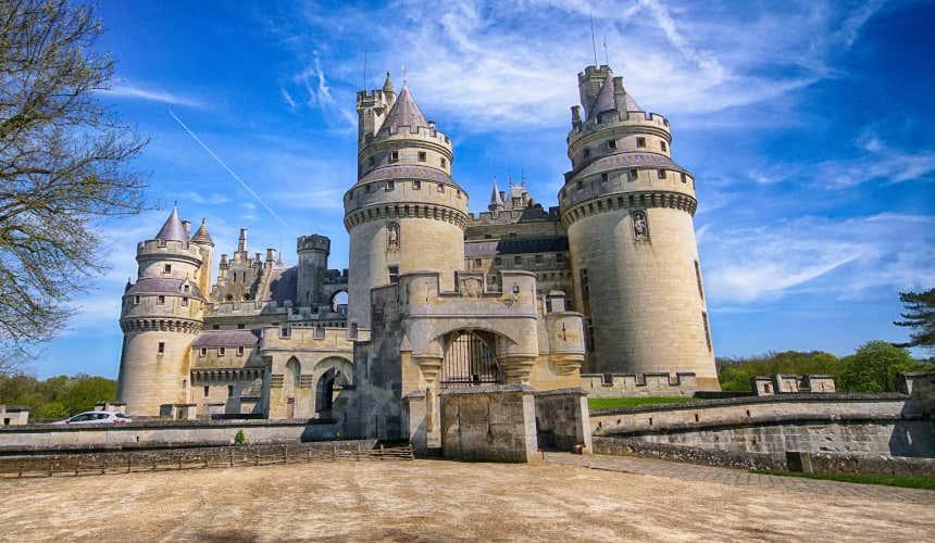 Entrada do castelo de Pierrefonds