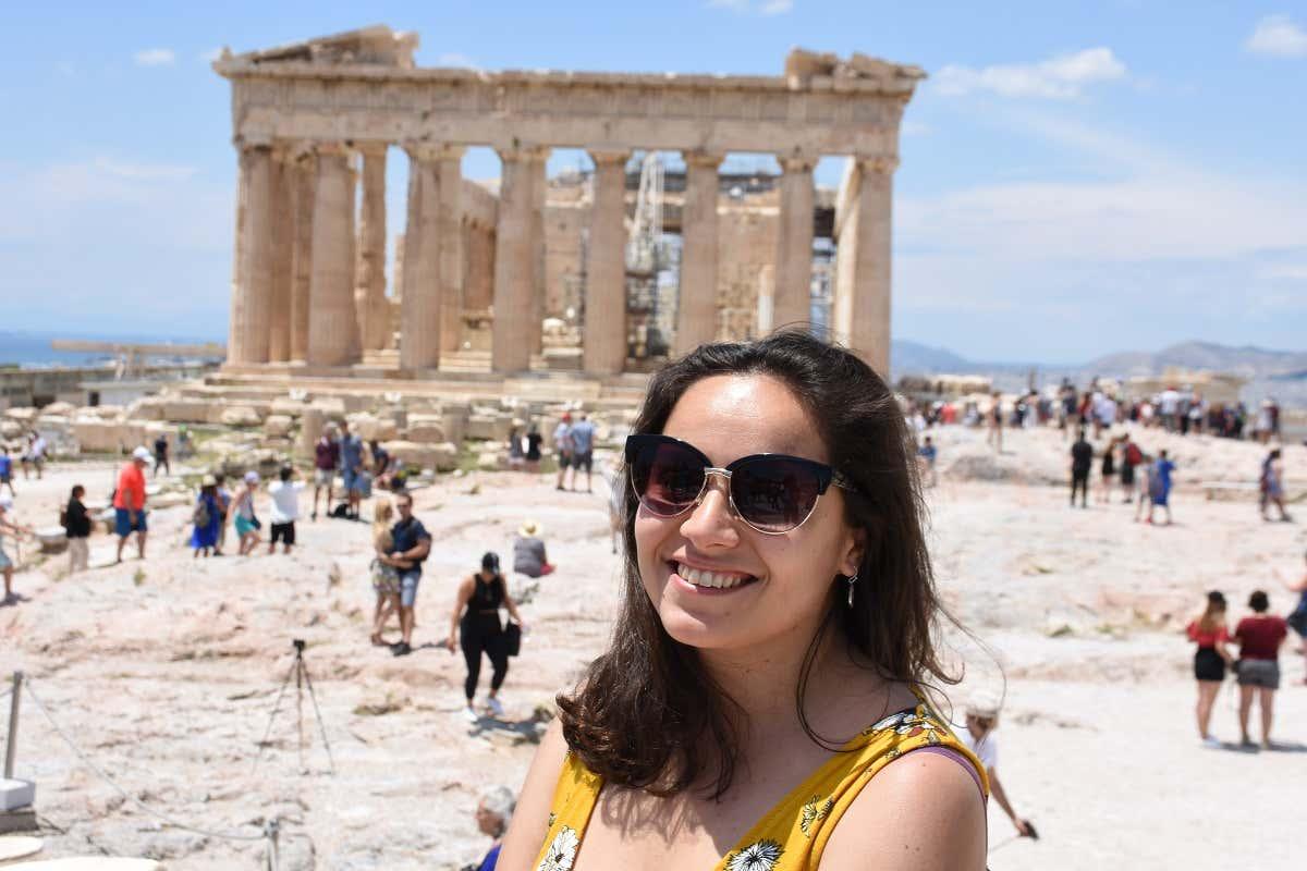 Larissa en Atenas