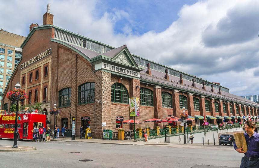 Edifício vitoriano do St. Lawrence Market de Toronto
