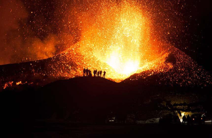 Magma del vulcano Eyjafjallajökull