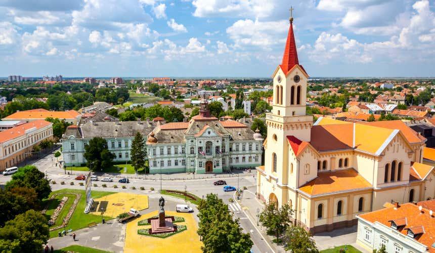 Centro histórico de Zrenjanin, Serbia