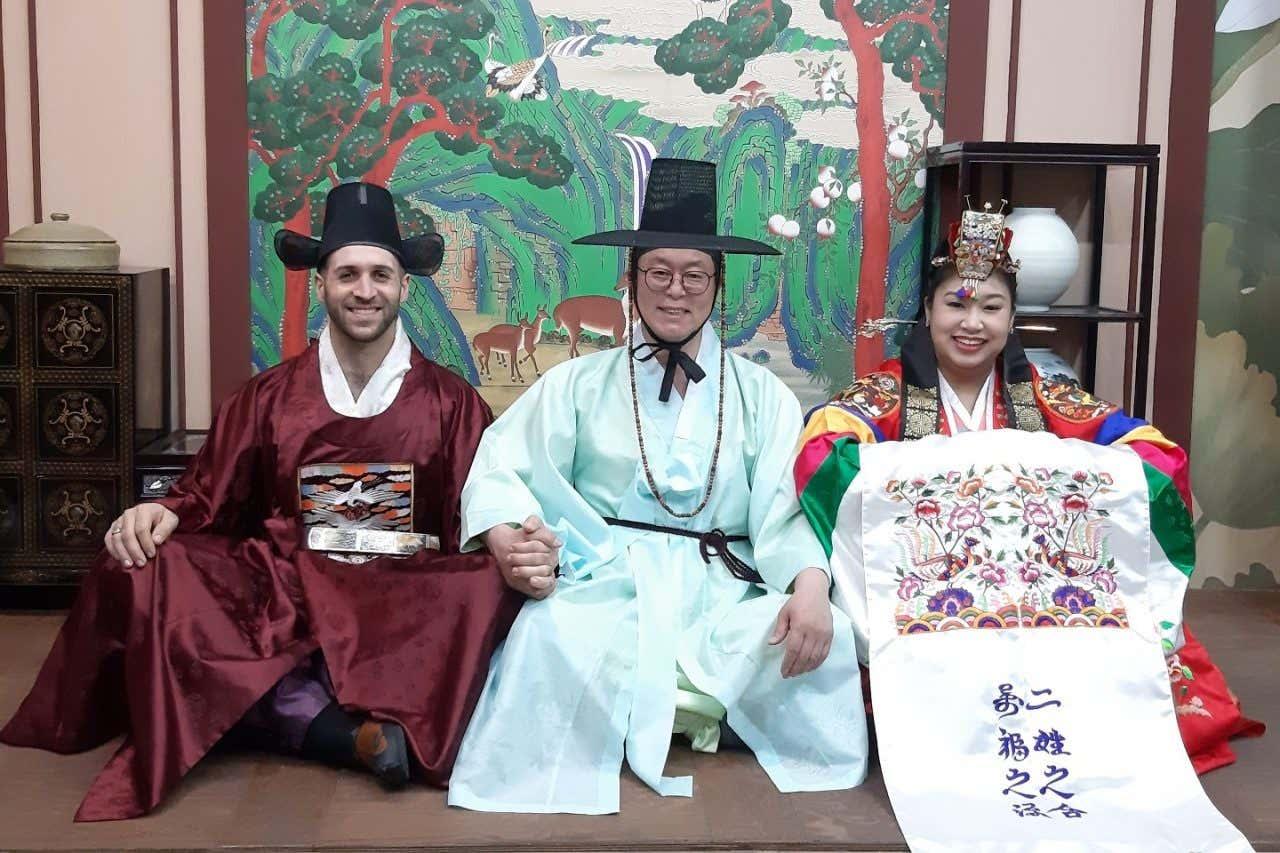 Se marier à Séoul est une façon originale de se marier, mariage traditionnel coréen