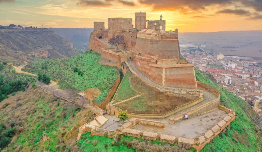 Castillo de Monzón. Huesca
