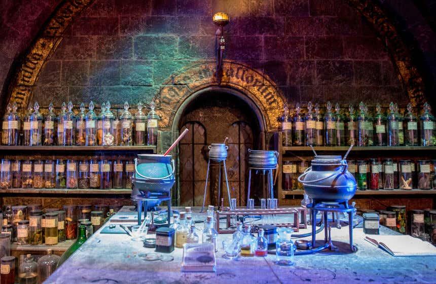 L'aula pozioni di Harry Potter