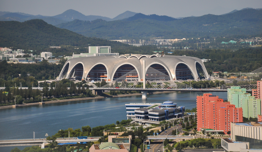 Stadio Rungrado May Day a Pyongyang