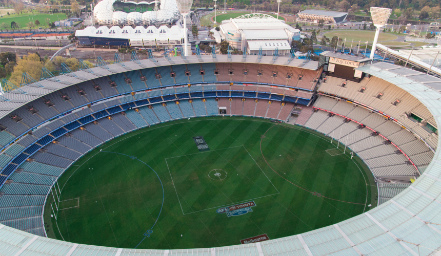 Stadio Cricket Ground di Melbourne