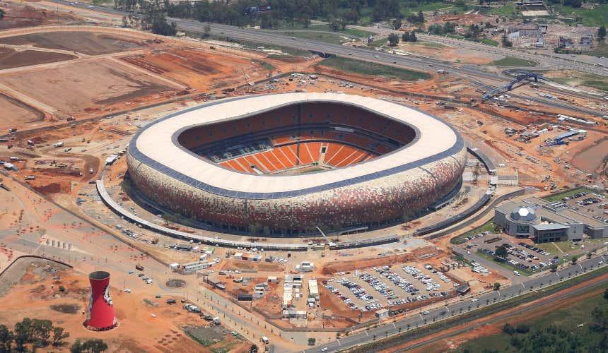 Soccer City di Johannesburg