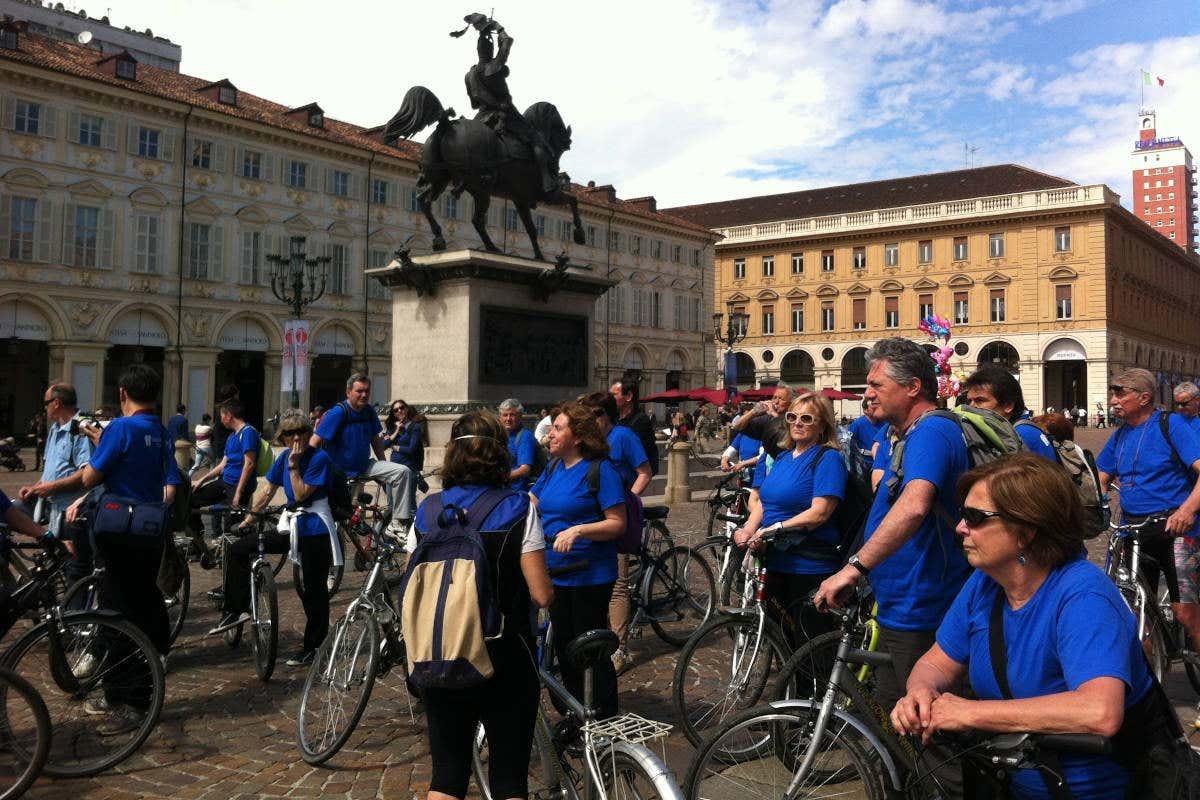 Muoversi in bicicletta è un'opzione eco-friendly.