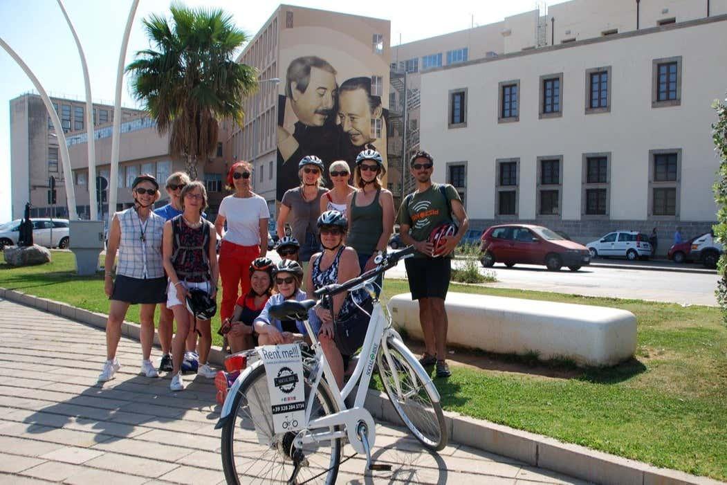 Tour in bici a Palermo, sulle tracce dell'Antimafia