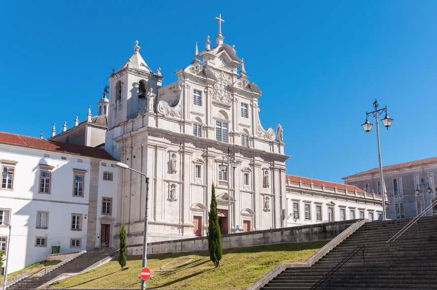 Sé Nova de Coimbra, onde funcionou o primeiro colégio jesuíta de Portugal