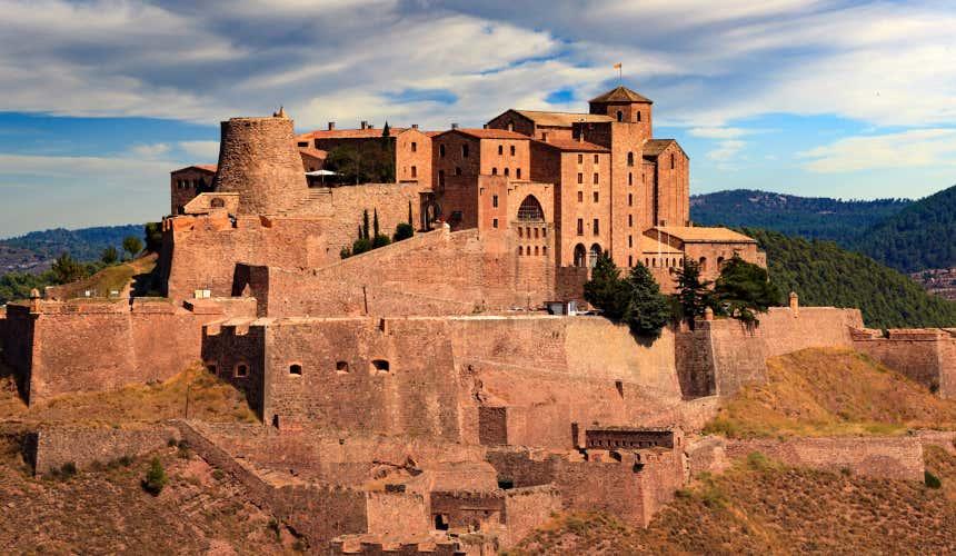 Castillo de Cardona, actual Parador Nacional de Turismo