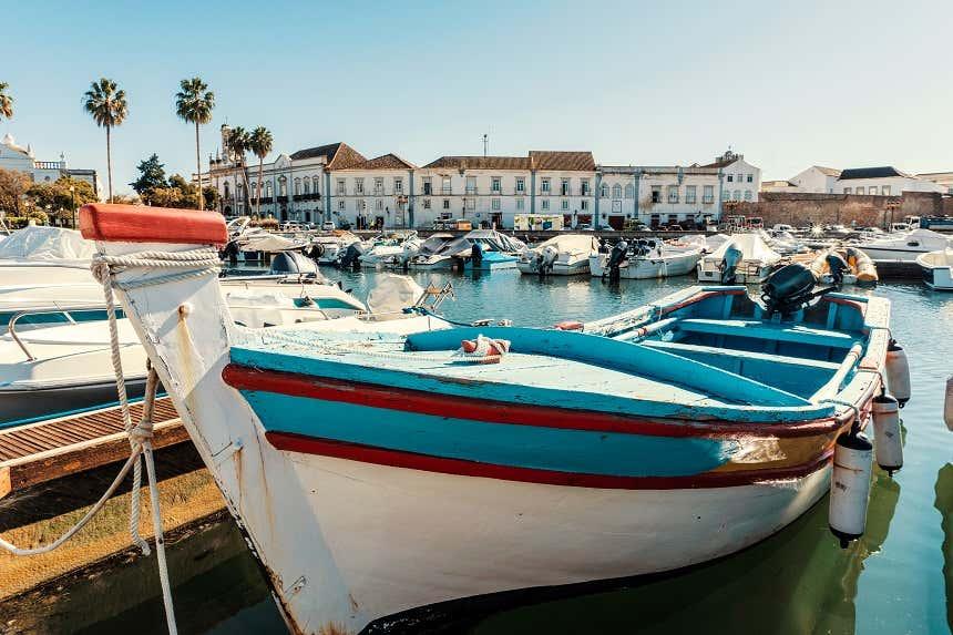 Barco em Faro