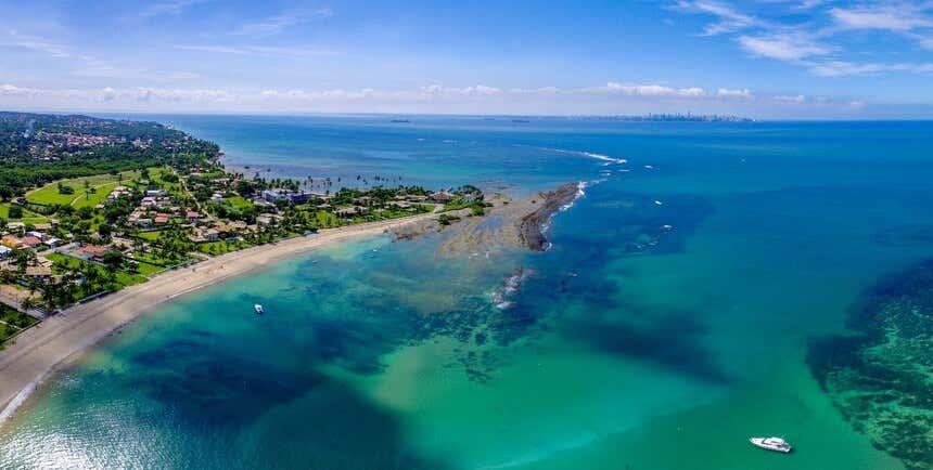 Itaparica, uma das praias paradisíacas do Brasil