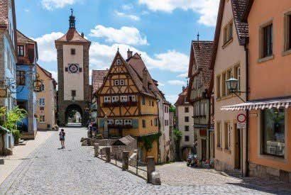 Le località più belle della Romantische Straße