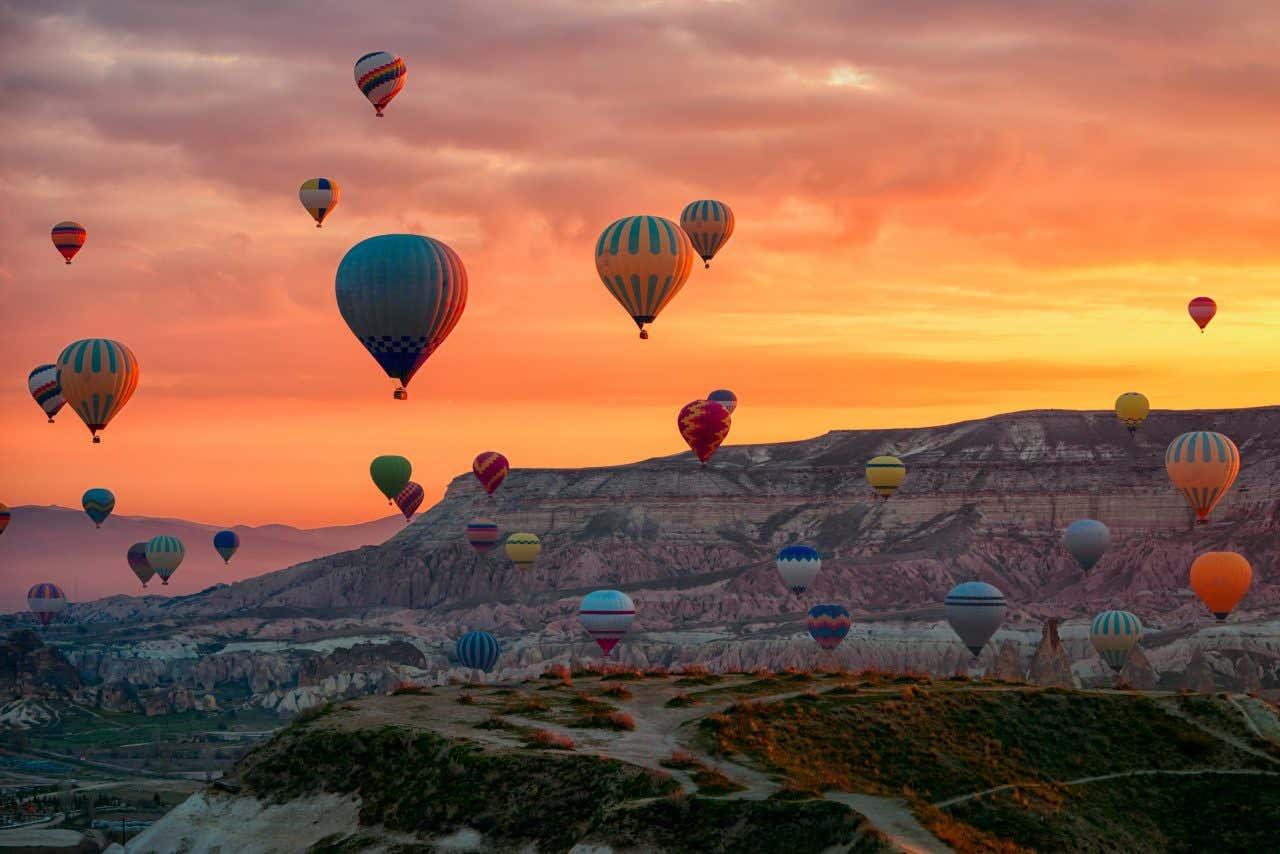 I paesaggi della Cappadocia