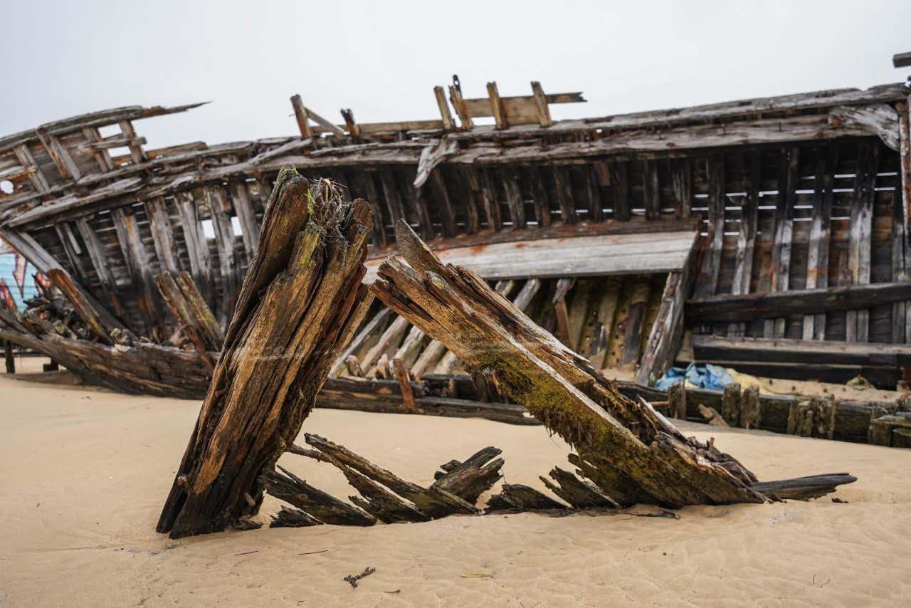 Cimetière de bateau de Noirmoutier