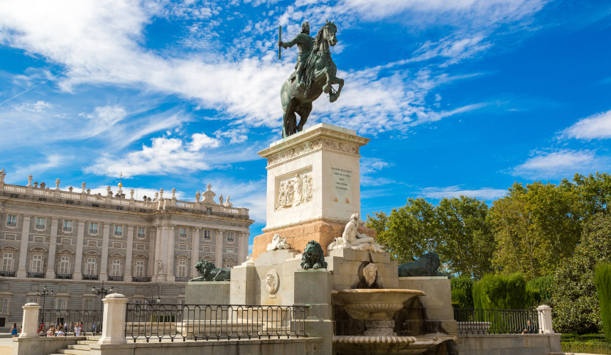 Estatua ecuestre de Felipe IV