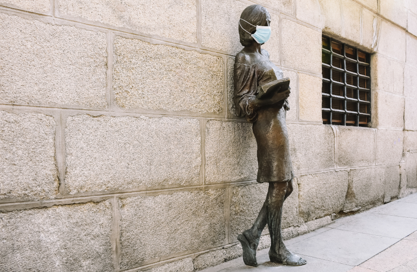 Julia, la primera universitaria de la ciudad de Madrid.