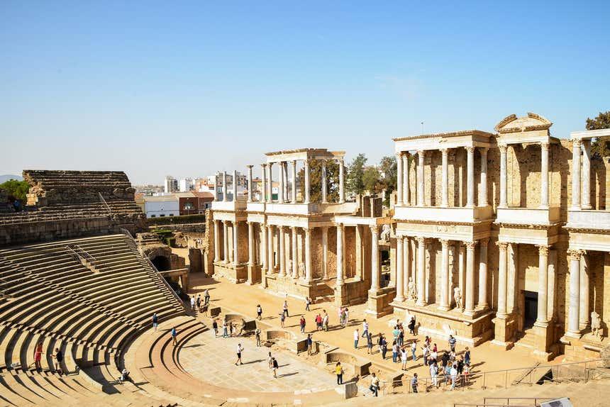 O Teatro Romano de Mérida é uma das principais atrações da cidade