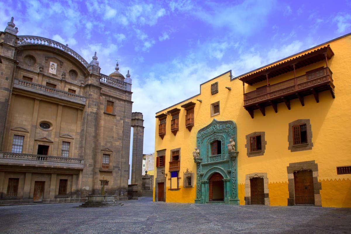 Casa de Colón en Vegueta, en el centro histórico de Las Palmas de Gran Canaria
