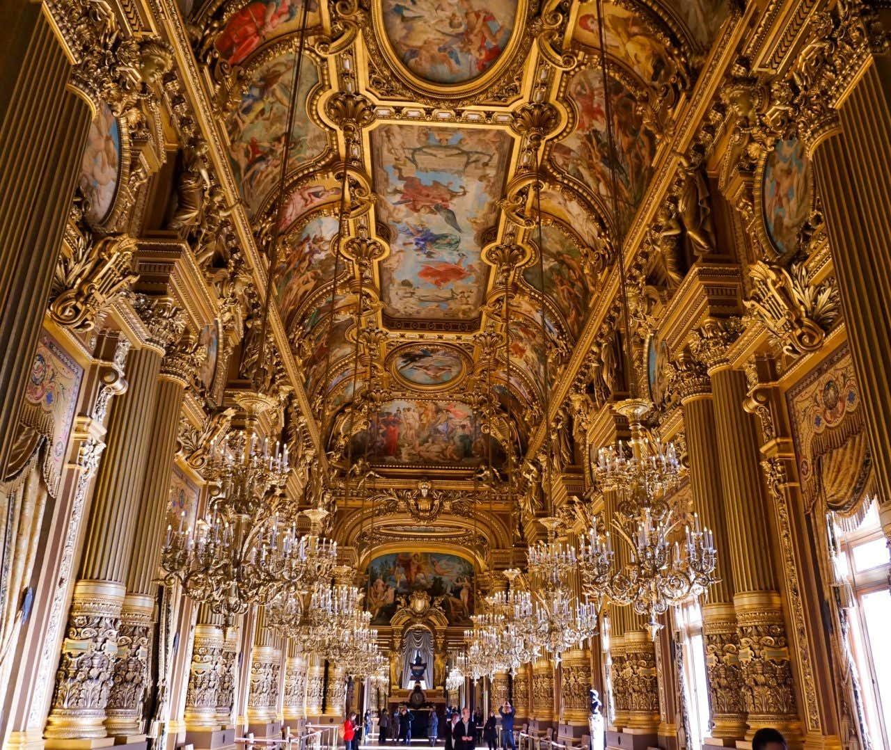 L'opéra Garnier et ses joyaux vous charmeront !